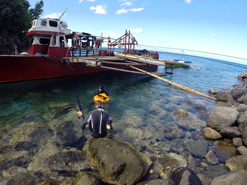 Freediving in Camiguin