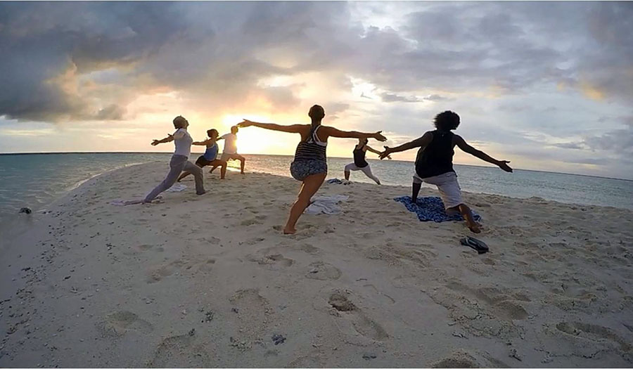 Yoga on White Island, Camiguin