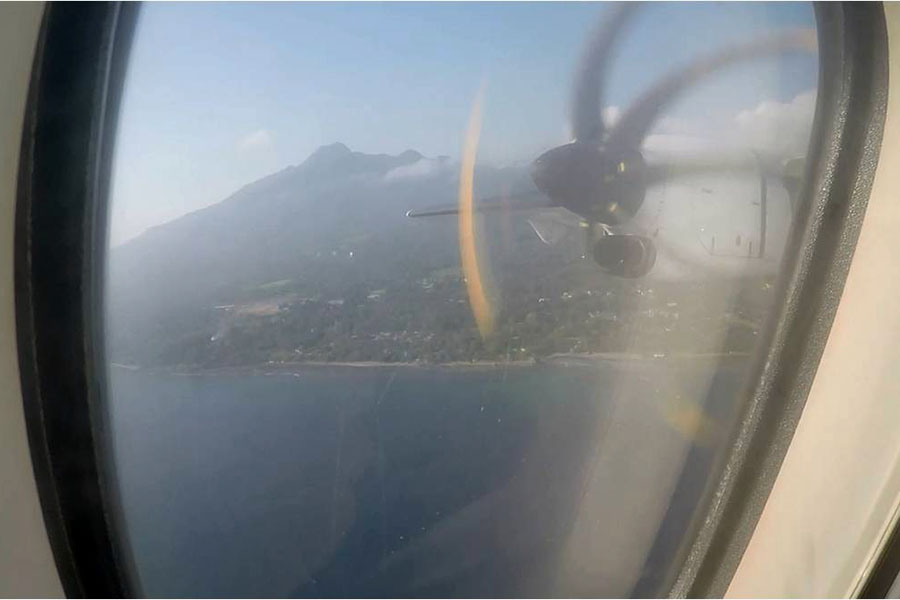 Camiguin from above