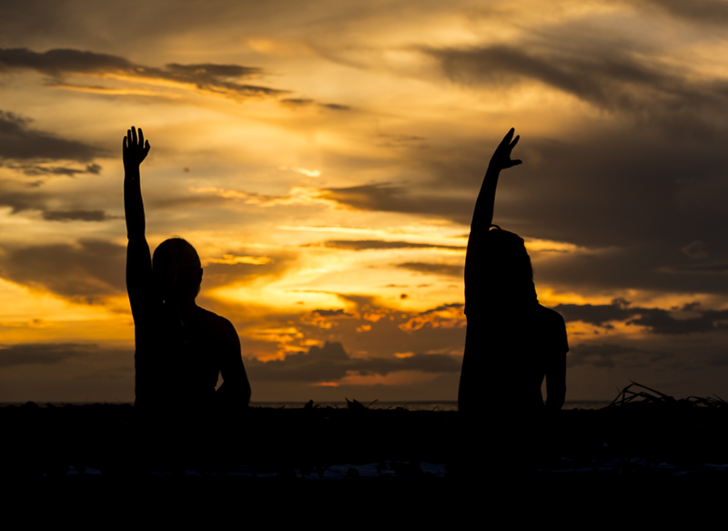 Sunset_yoga