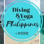 Yoga and Diving in the Philippines – 1 week schedule