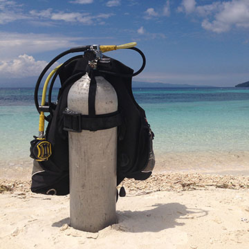 Yoga and Diving in the Philippines